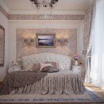 интерьер классической спальни