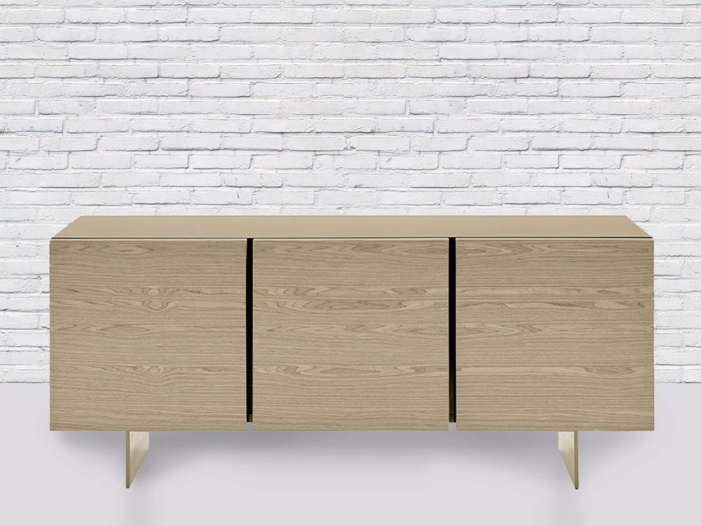 комод в стиле минимализм с тремя ящиками
