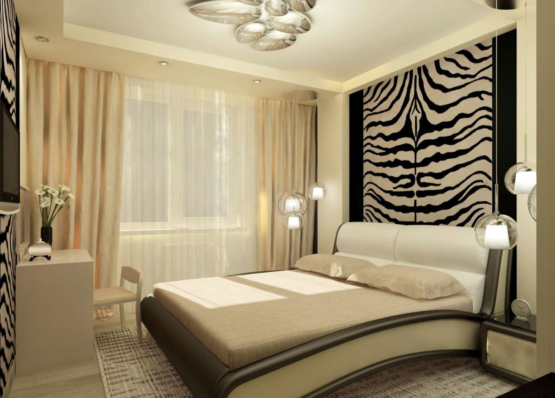 фотообои над кроватью текстура зебра
