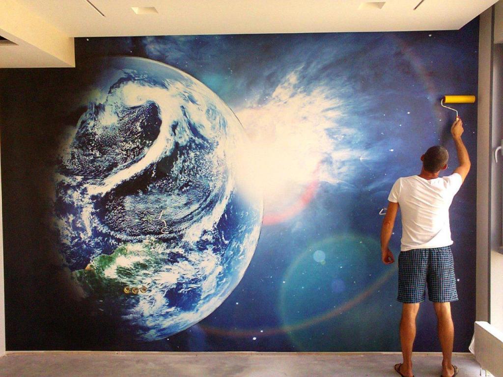 фотообои земной шар