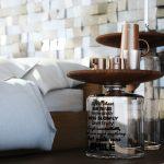 прикроватный столик в виде бутылки