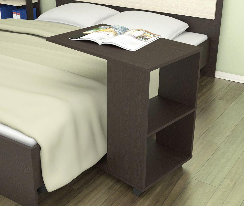 прикроватный столик подкатной для журналов