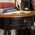 прикроватный столик деревянный старинный