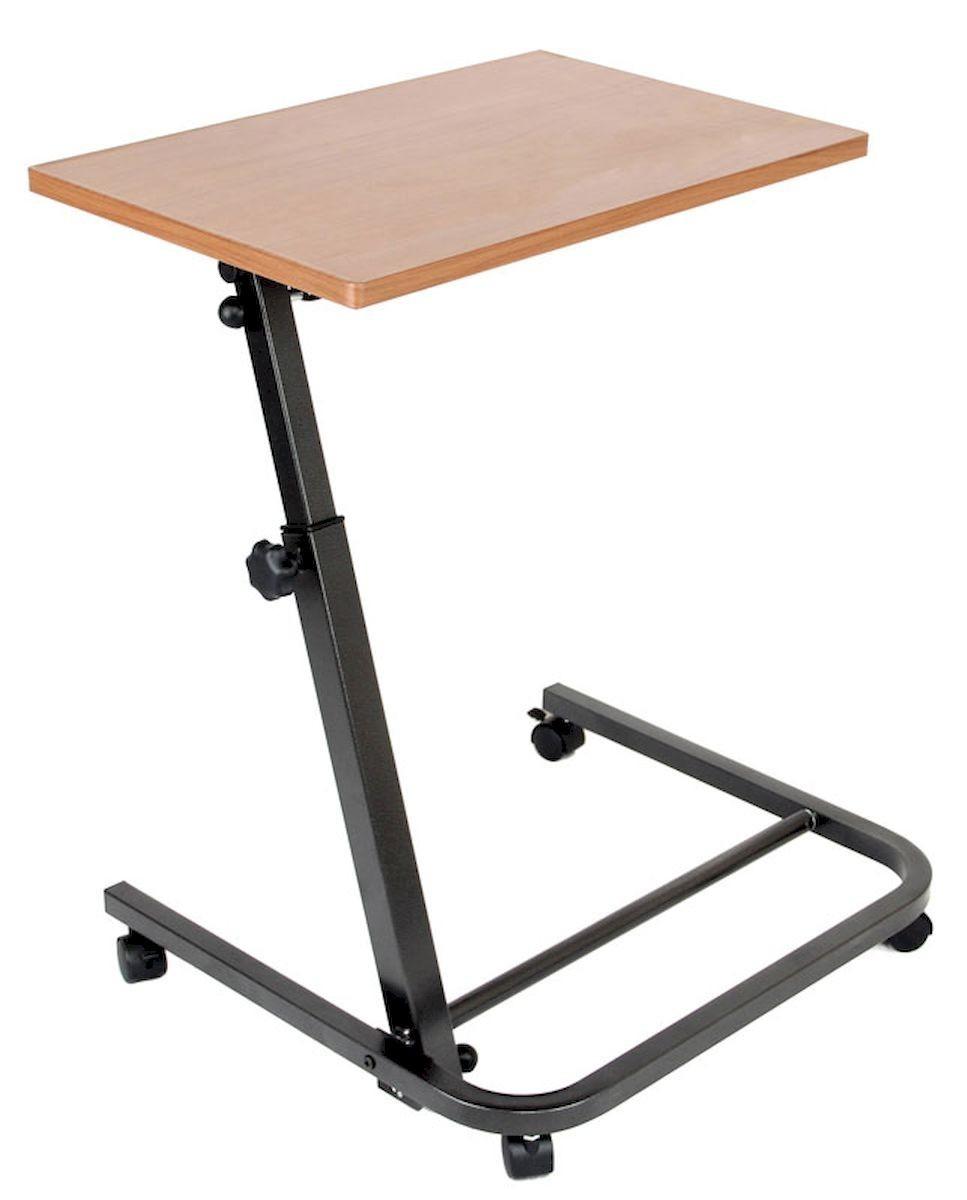 подкатной регулирующийся прикроватный столик