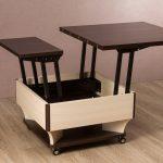 прикроватный столик трансформер