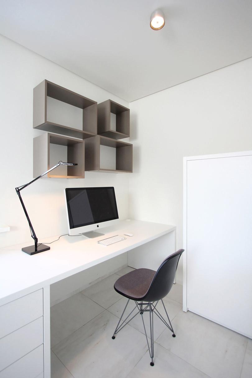 рабочий стол в стиле минимализм