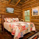 спальня в стиле русской деревни