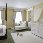 дизайн интерьера спальни вместе с детской