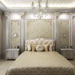 дизайн спальни в стиле классический