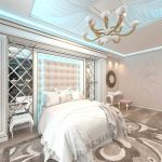 дизайн интерьера спальни в стиле модерн