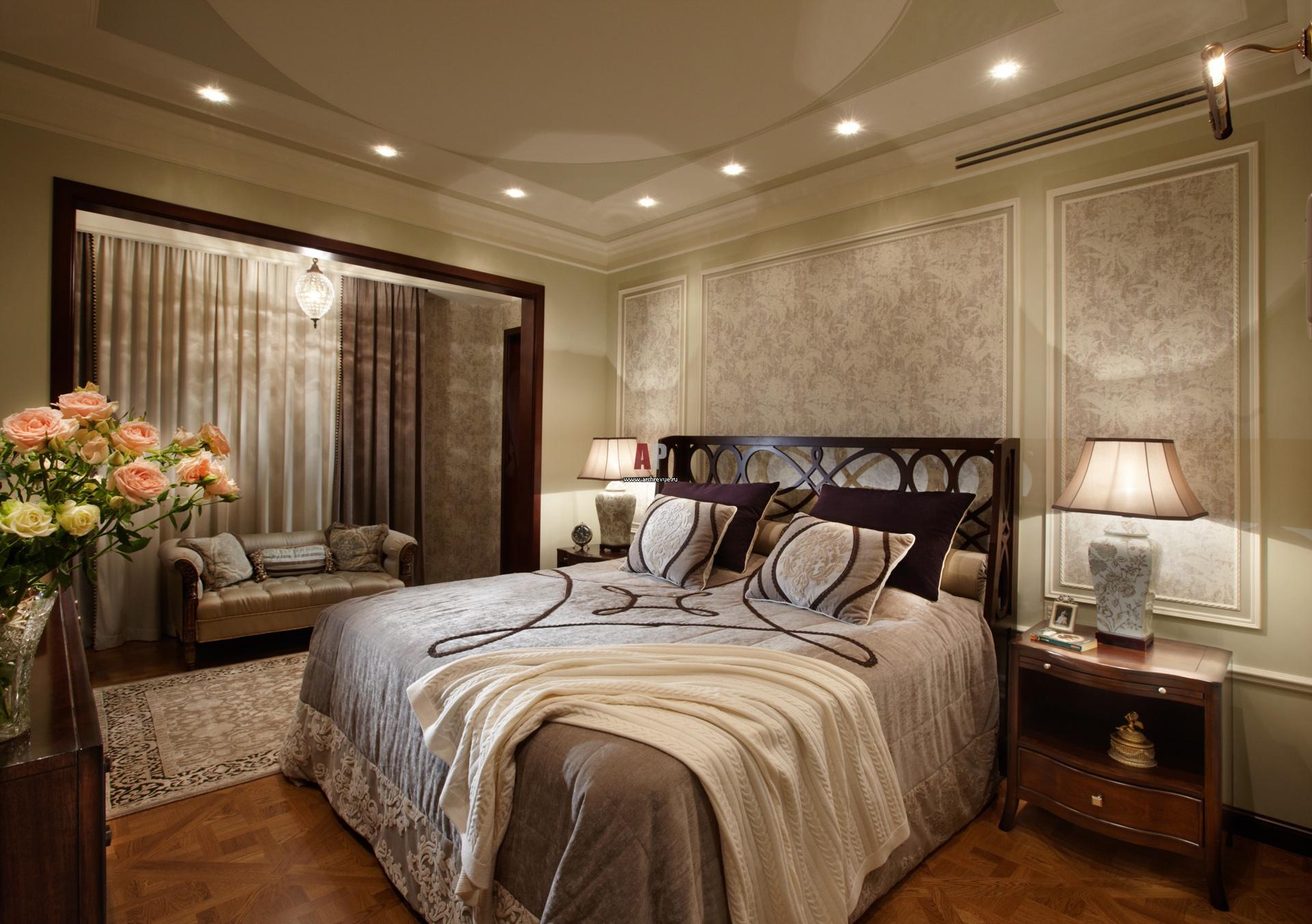 Спальня с балконом: дизайн с особенностями.