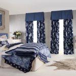 дизайн спальни в стиле морской