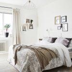 дизайн спальни в стиле скандинавии