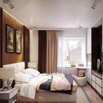 дизайн интерьера спальни 18 метров