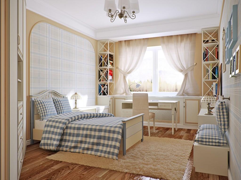 спальня в стиле прованс для ребенка