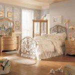 винтажный дизайн интерьера спальни