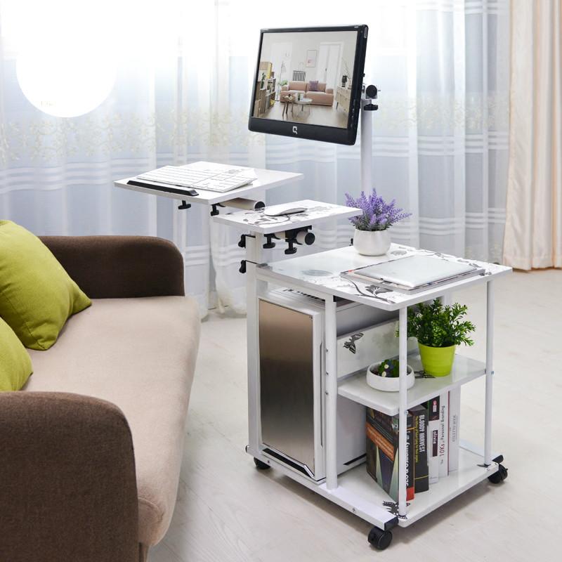 телевизор на прикроватном столике трансформере