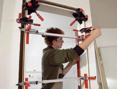 Установка и ремонт межкомнатных дверей