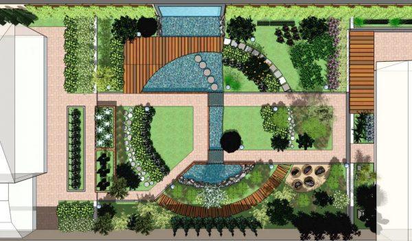 Проектирование ландшафта и его озеленение