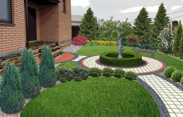 Использование рулонных газонов для озеленения участка