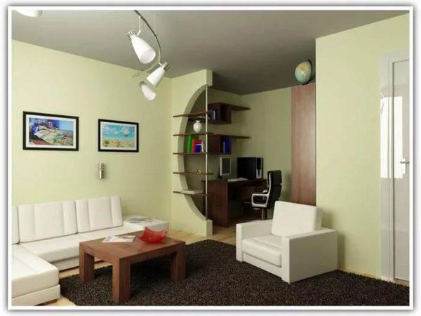 Маленькая квартира и освещение