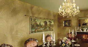 Декоративная штукатурка в интерьере помещения