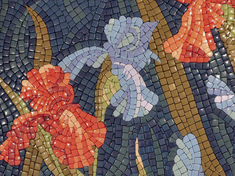 Сделать картину из мозаики