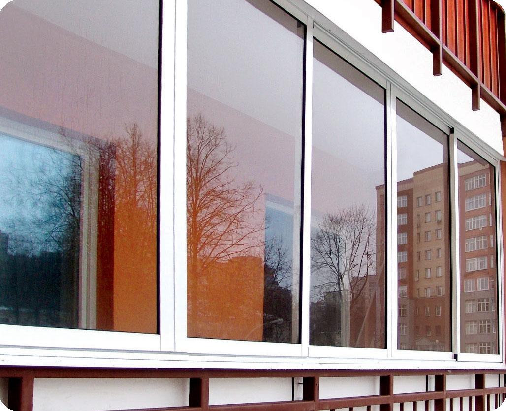 Балкон в стекле. как это?.