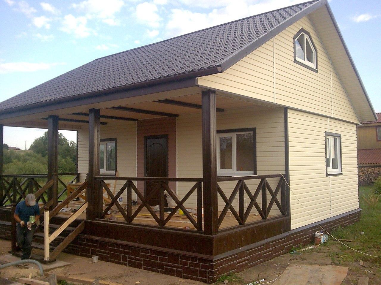 Построить дом своими руками недорого проект 87