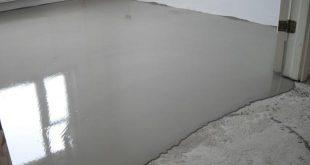 Наливной или бетонный пол - что лучше?