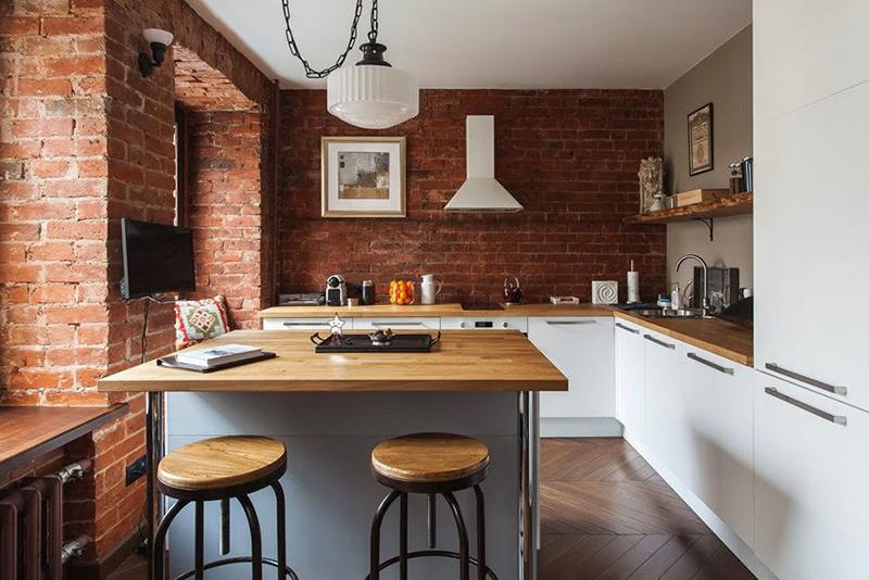 Основные преимущества кухни в стиле лофт