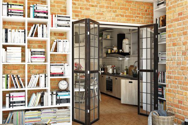 Стеллажи и места для хранения в стиле лофт
