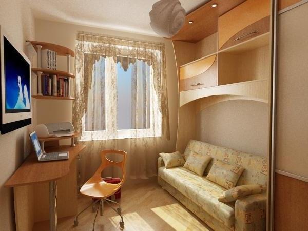 Как в малогабаритной квартире разместить мебель