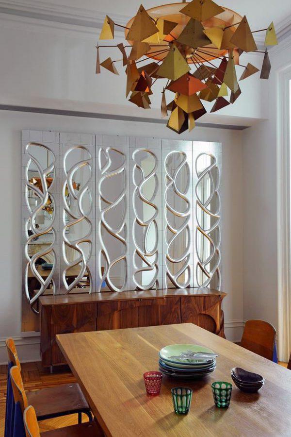 Как сделать зеркальную стену в квартире