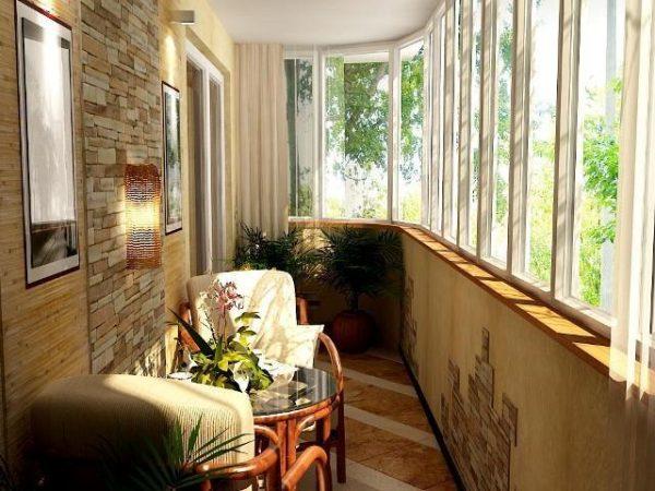 Обустройство и утепление балкона.