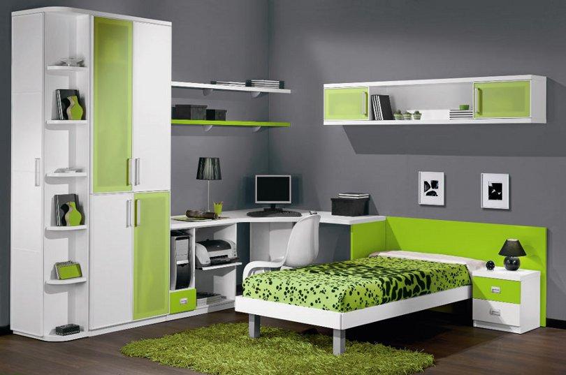 Мебель для школьников в интерьере детской
