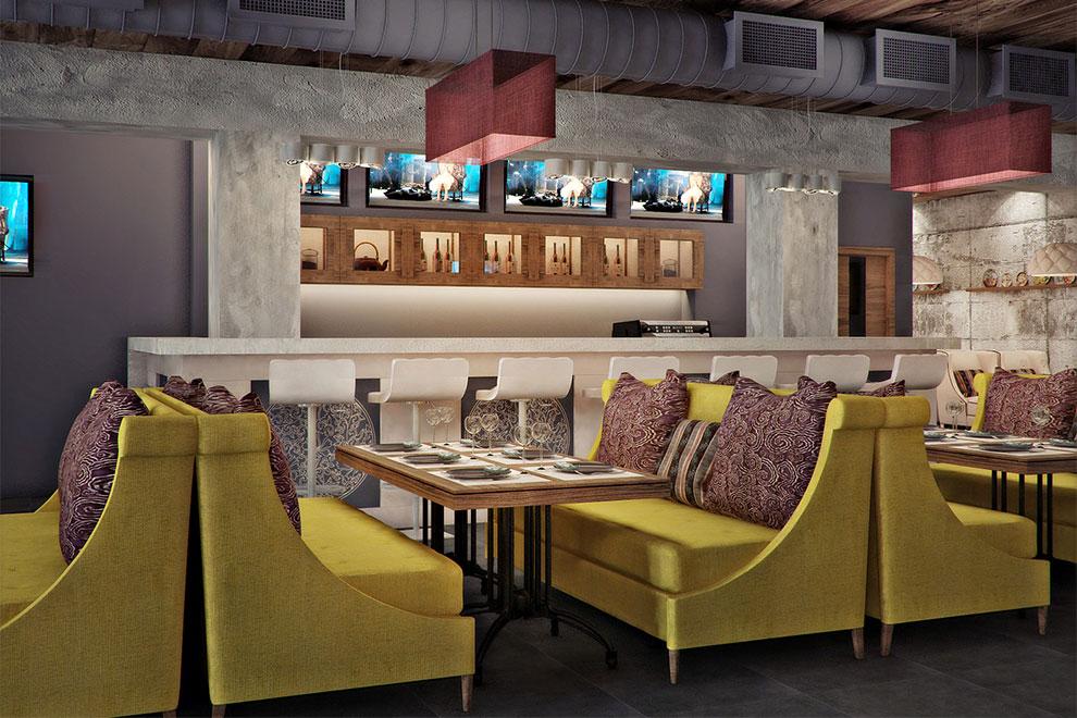 Мебель для ресторанов и кафем