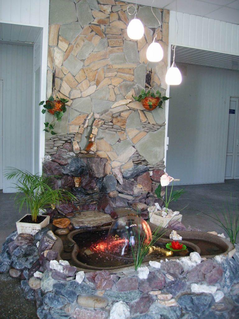 Водопад дома своими руками комнатный 31