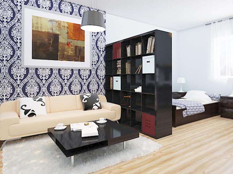 Мебель в качестве перегородки