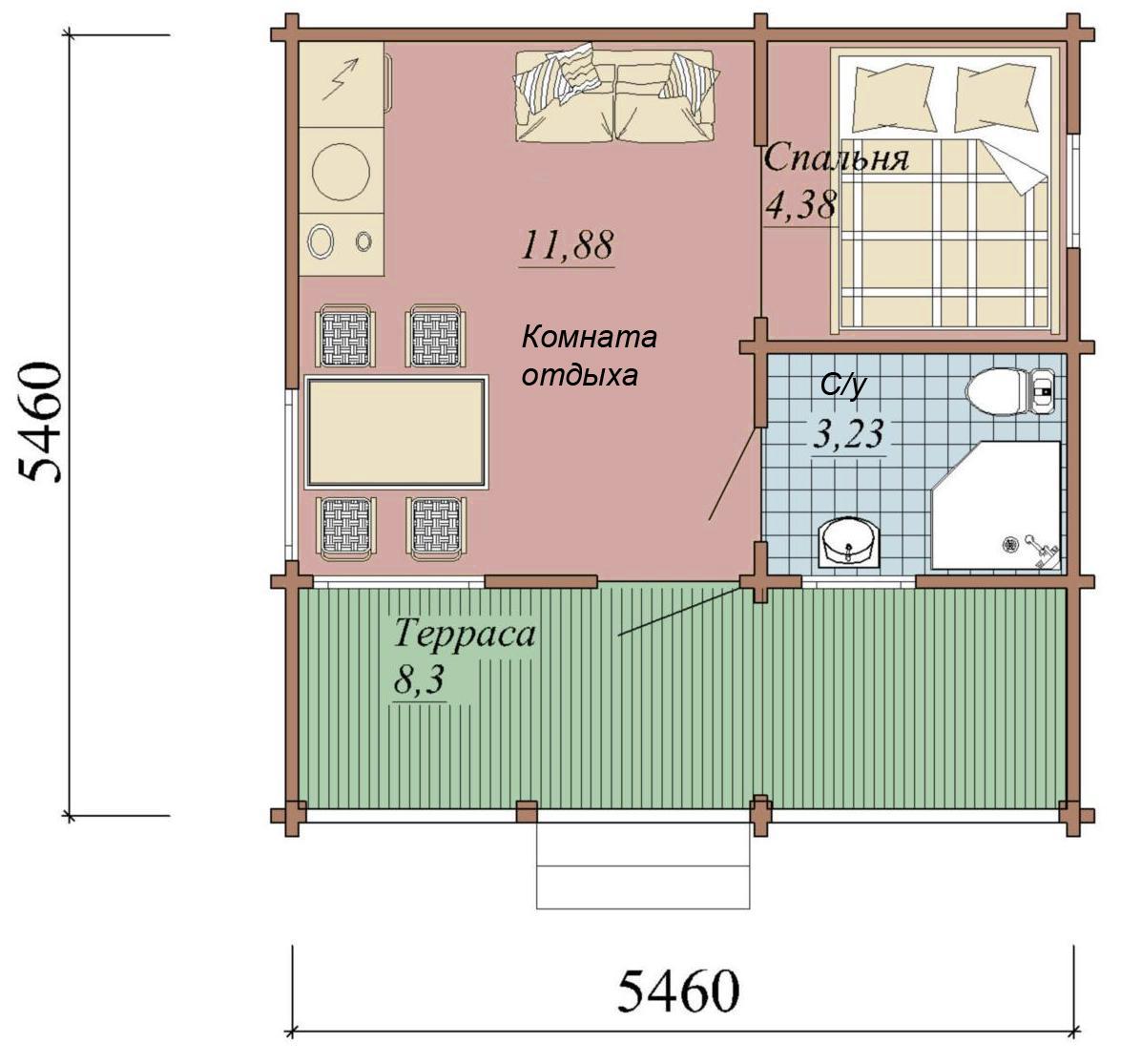 Проекты бань гостевых домов