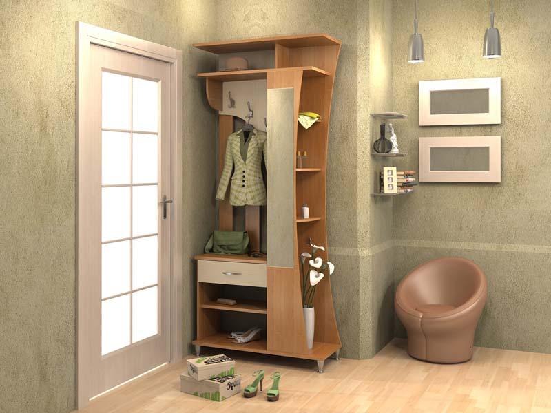 Мебель для малогабаритной прихожей
