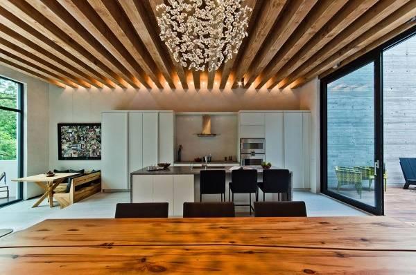 Типы современного потолка