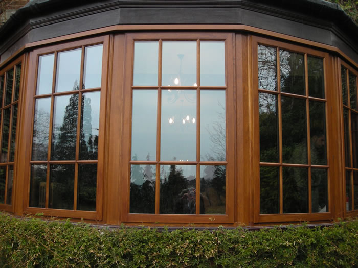 Деревянные окна - современное качество