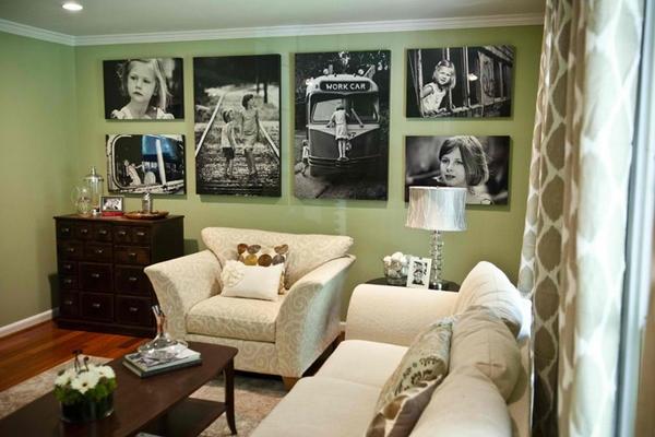 Как украсить квартиру картинами