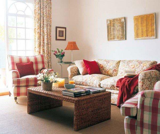 Обустройство уютной гостиной
