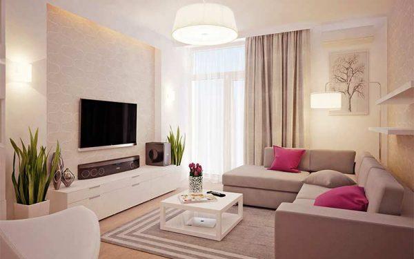 Варианты обустройства уютной гостиной
