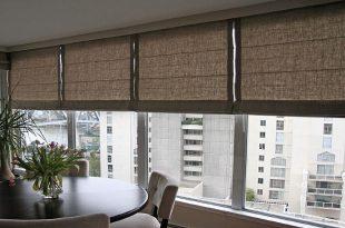 Римские шторы на окна. Особенности стиля