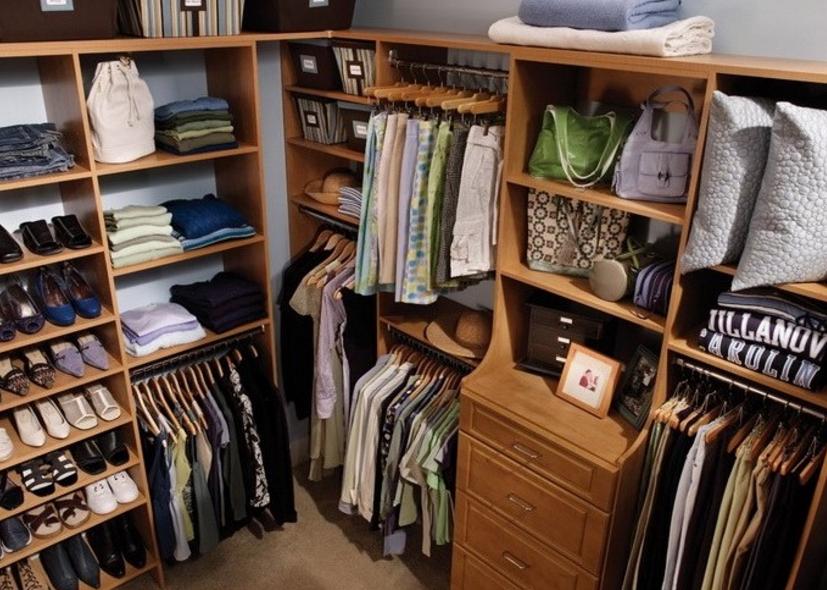 Особенности гардеробной системы Невада