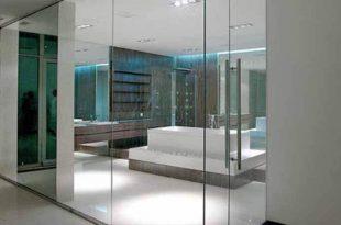Особенности стеклянных перегородок лофт