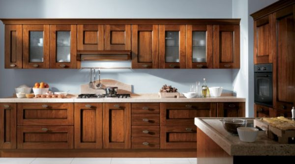 кухня-из-дерева